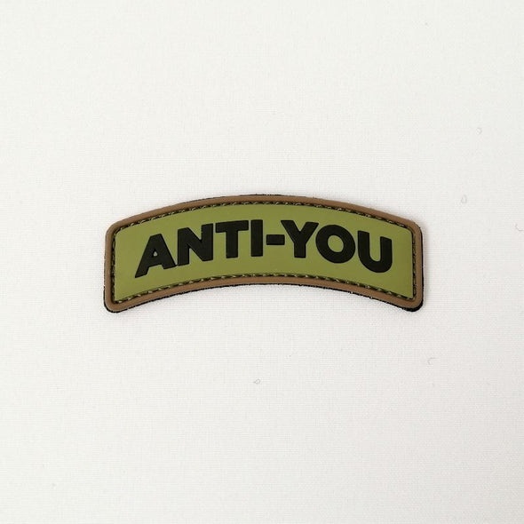 Anti-You 3D pvc patch