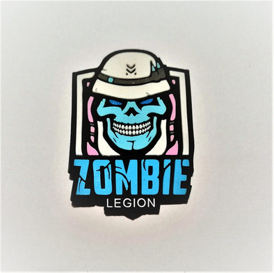 Zombie legion 3D pvc patch