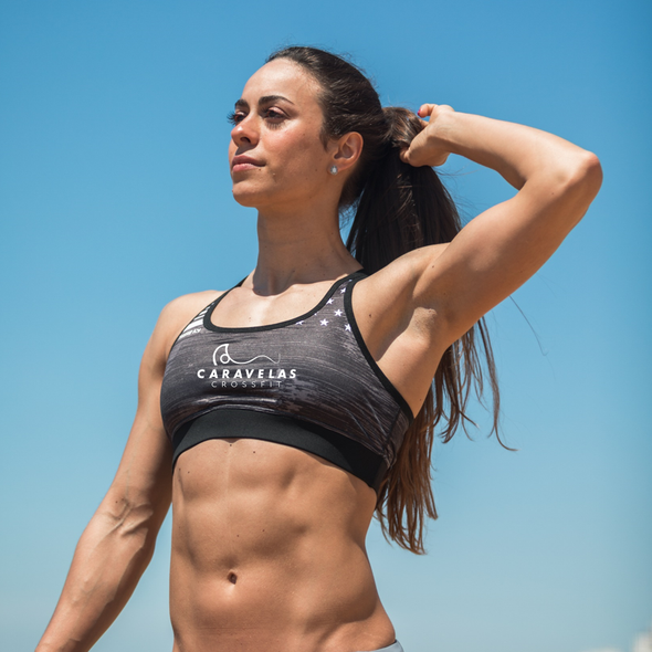 Princess Warrior Sport Bra - CrossFit Caravelas