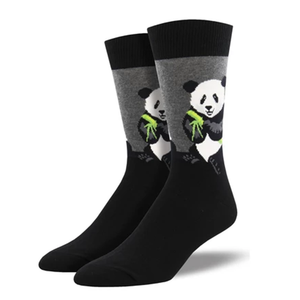 Peaceful Panda Men Crew socks