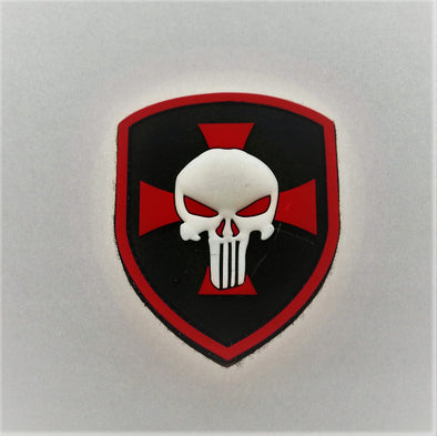 Punisher Shield 3D pvc patch