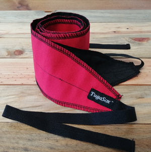 Rusty Red Wrist Wraps