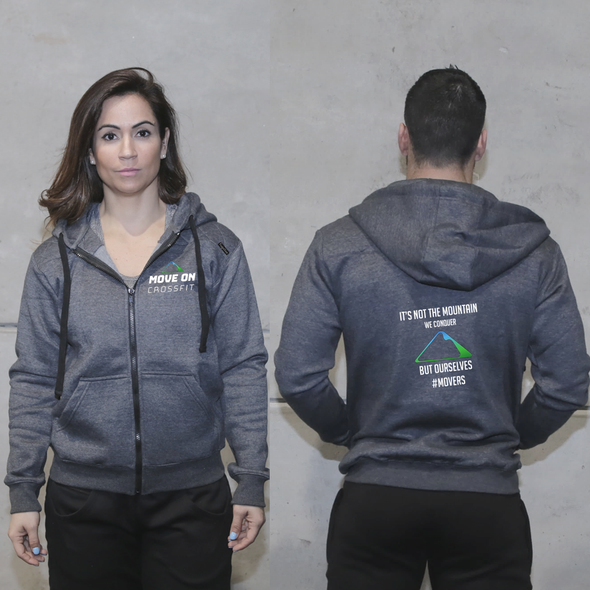 Casacos Unisexo - Move On CrossFit | Unisex Full zipper hoodies - Move On CrossFit