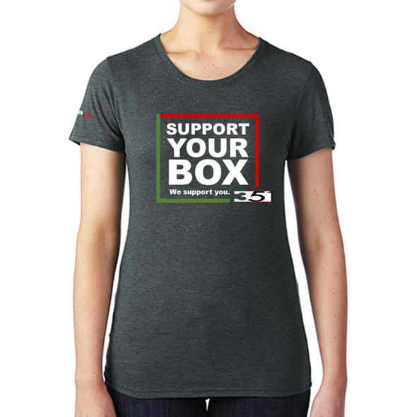 We Support You - T-Shirt BOX 351