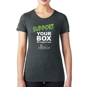 We Support You - T-Shirt CF CARAVELAS