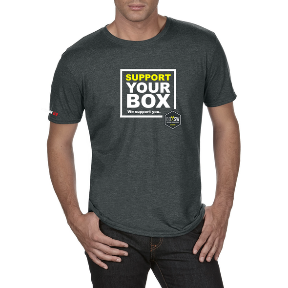 We Support You - T-Shirt BOX SW