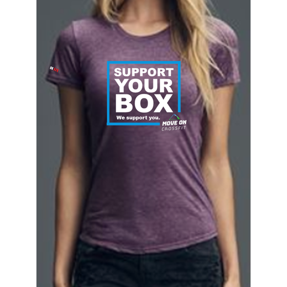 We Support You - T-Shirt Move On CrossFit