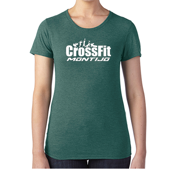 T-Shirts Femininas CrossFit Montijo | Ladies customized t-shirts - CrossFit Montijo