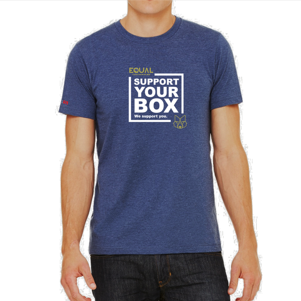 We Support You - T-Shirt EQUAL BOX