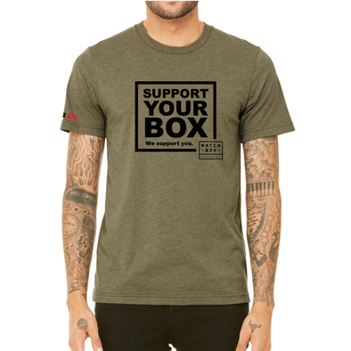 We Support You - T-Shirt MatchBox CF