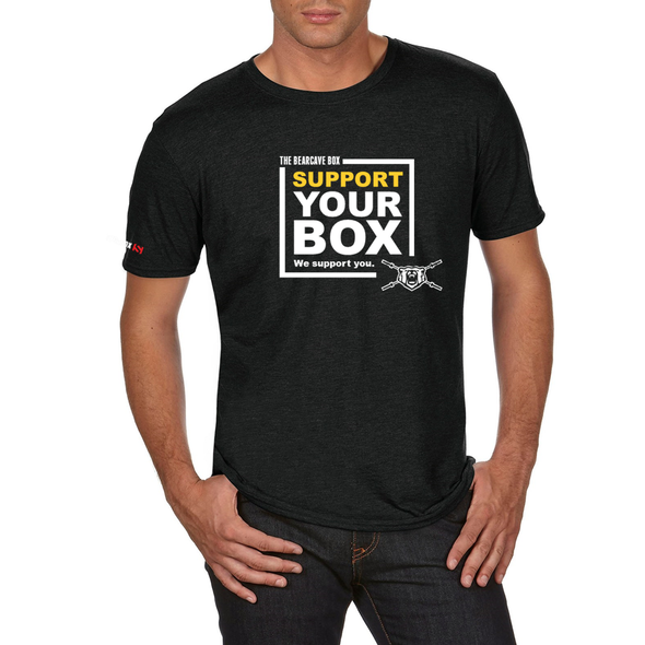 We Support You - T-Shirt The Bearcave Box
