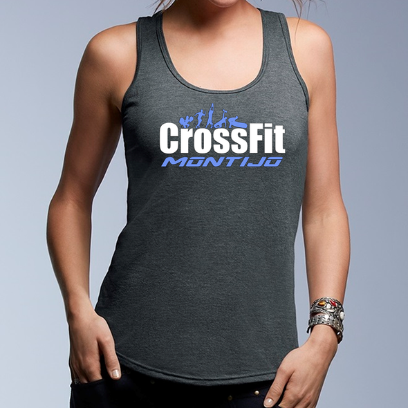 Tank Feminino CrossFit Montijo | Ladies customized tanks - CrossFit Montijo