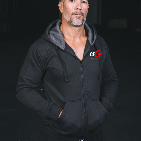 Casacos Unisexo - CrossFit G | Unisex Full zipper hoodies - CrossFit G