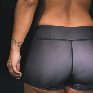 "Black Bear- Ladies Shorts - ""Wild"" Collection by False Grip"