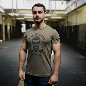 Wod Riders - Men T-Shirt by False Grip