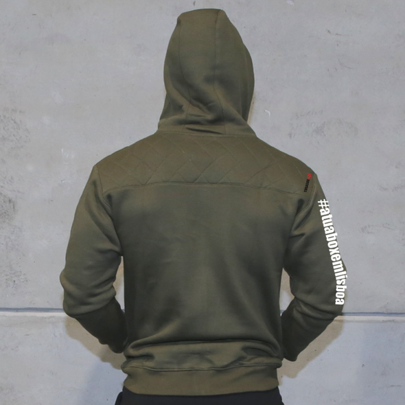 Zip-Up Hoodies Unisexo - A. Green - XXI CrossFit | Unisex Zip-Up hoodies- A. Green- XXI CrossFit