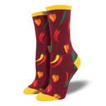 A little chilli - Ladies Crew socks