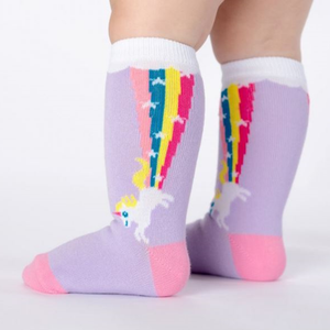 Magic Unicorns / 1-2 anos (até ao joelho) | Magic Unicorns Baby Knee High socks (1-2 yrs)
