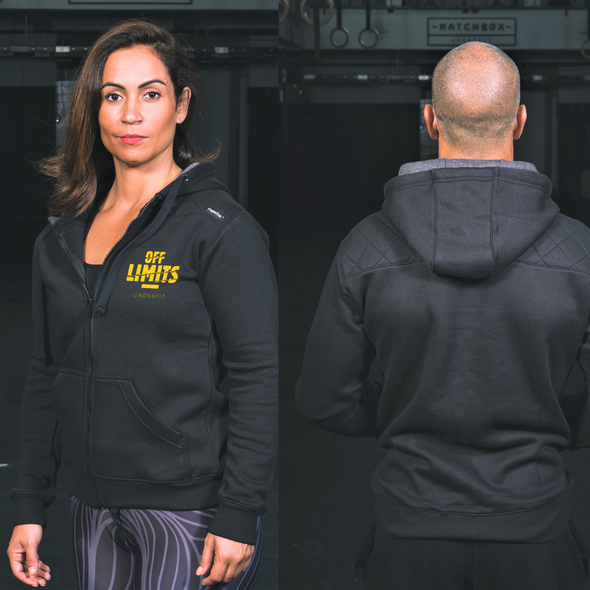 Casacos Unisexo - Carbon - Off Limits CrossFit | Unisex Zip-Up hoodies- Carbon - Off Limits CrossFit