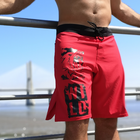 Calções Grizzly - Red | Grizzly Red - Men shorts