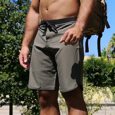Calções masculinos Hercules - Army Green  | Hercules- Men Shorts - Army Green