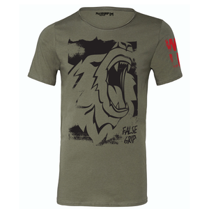 "Born Wild Men T-Shirt - ""Wild"" collection by False Grip"