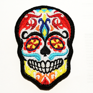 Mexican Skulls - Velcro Patch