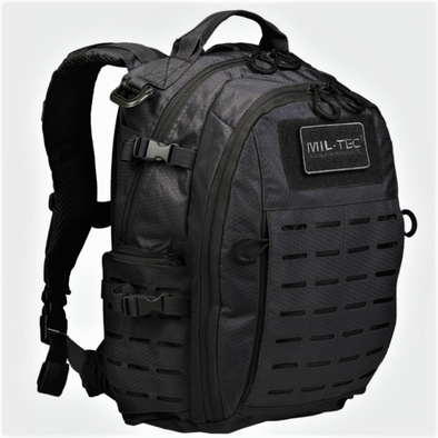 Mochila Mil-Tec Hextac Black  | Backpack Mil-Tec Hextac Black