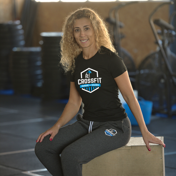 T-Shirts Femininas CrossFit Parque das Nações | Ladies customized t-shirts - CrossFit Parque das Nações