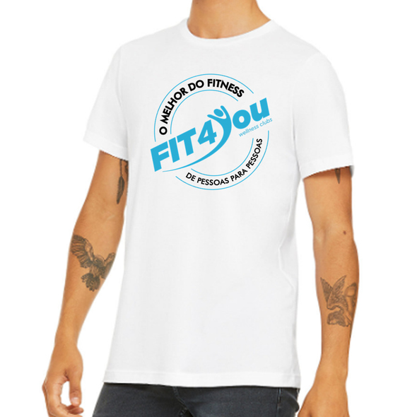 T-Shirt Masculina Fit4You  | Men T-Shirt - Fit4You