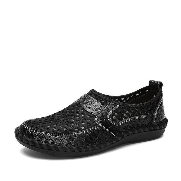 Men's Mesh Breathable Outdoor Lightweight Slip-on Flat Shoes(Buy 2PCS Use Code:SA10 Get 10% Off)
