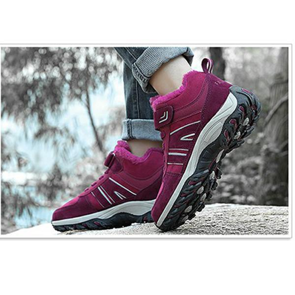 Women's Plush Warm Sneakers