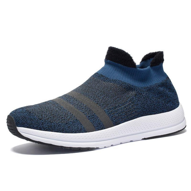 Pearlzone_Men's Plus Cotton Casual Sock Shoes