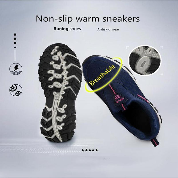 Pearlzone_Winter Warm Sneakers  for Women
