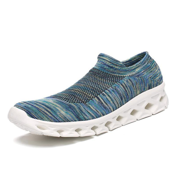 Women Slip On Walking Lightweight Casual Running Sneakers