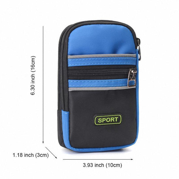Pearlyo_Fashion Waterproof Nylon Waist Pack High Quality Arm Pack Small Patchwork Crossbody Bags 116070