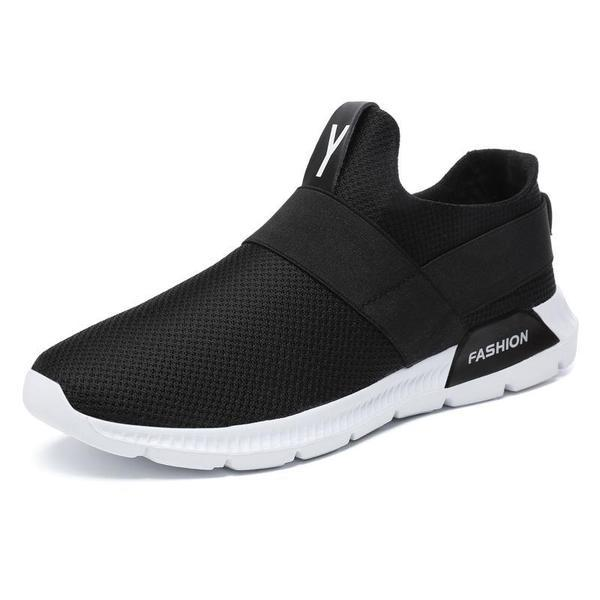 Pearlzone_Men's Light Sports Breathable Mesh Shoes