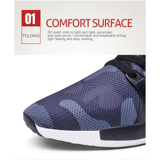Pearlyo_Men's Casual  Breathable Non-slip Fashion Sports Shoes