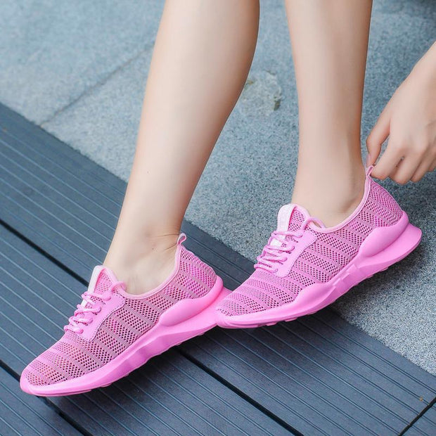 Women's  Large Size Mesh Sneakers