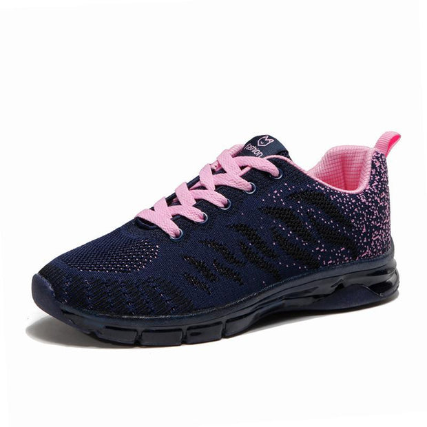 Women's Flying Weaving  Sports and Leisure  Large Size  Sneaker
