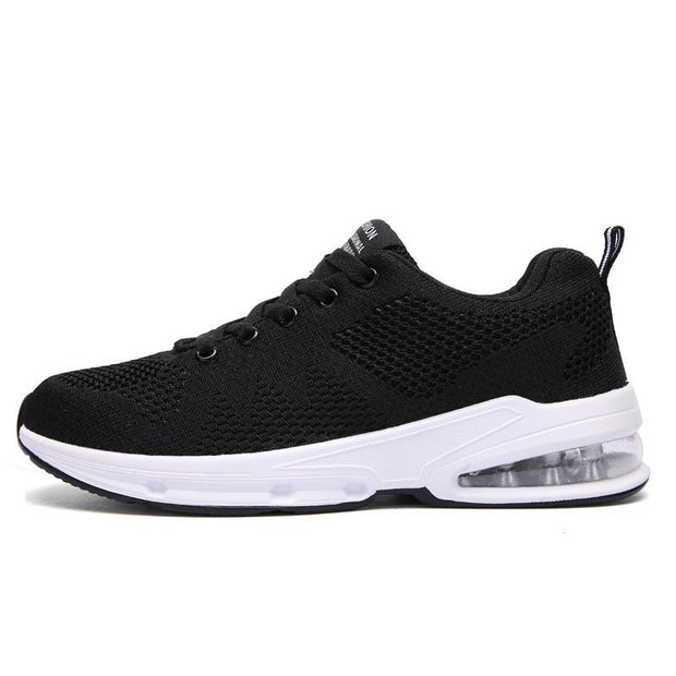 Women's New Casual Sports Air Cushion Flying Woven Shoes