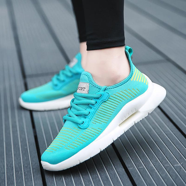 Women's Fashion Breathable Thickening Flying Woven Shoes