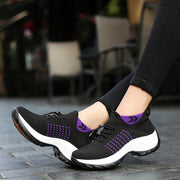 Large Size Comfortable Flying Woven Women's Shoes 35-42