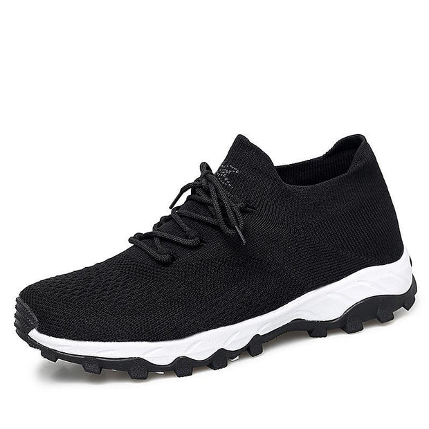 Pearlzone_Sports Shoes Female Autumn Running Shoes Non-slip Wear-resistant Men's Shoes  118726