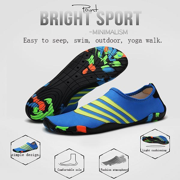 Pearlzone_Men's Soft Beach Swimming Shoes