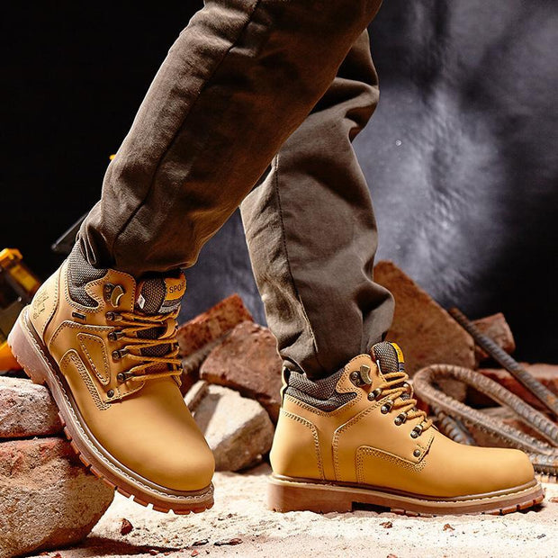 Pearlyo_Men shoes breathable gauze Anti-Slip  hiking boots 118312