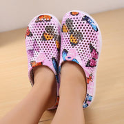 Pearlyo_Ladies Light-weight Non-slip Hole Shoes