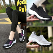 Women sneakers shoes flat slip on platform sneakers for women breathable mesh sock sneakers shoes 118451
