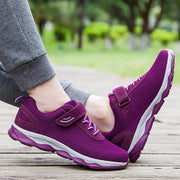 Pearlyo_Female Spring and Summer Middle-aged Walking Shoes Non-slip Health Shoes 118603