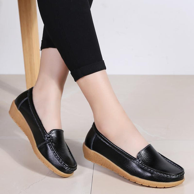 Pearlyo_Large Size Women's Shoes Flat Peas Shoes 35-42 118729